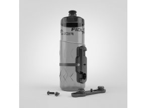 Láhev s držákem Fidlock BOTTLE TWIST set Grey/black
