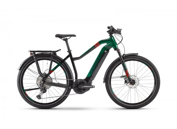 Elektrokolo HAIBIKE SDURO Trekking 8.0 500Wh 27.5 2020 Black/kingston/red
